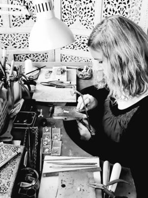Chloe Romanos, Jewellery Designer and Maker, Cloelea Jewellery