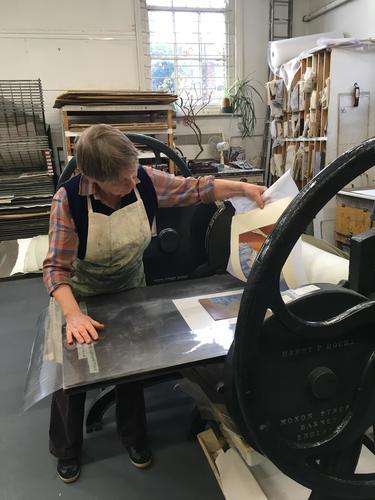 Printing at the OPC workshop