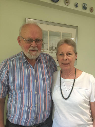 Stephen and Jane - the Art Duo