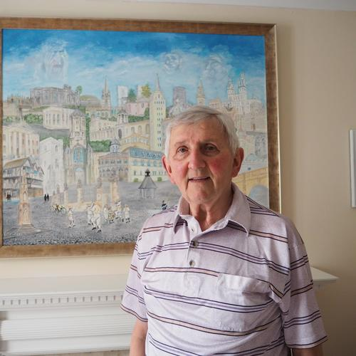 Les Riley Artist, see Bicester Art Network