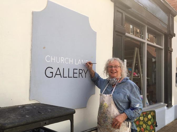 Rosy Burke at Church Lane Gallery - Home to Banbury Artists' Co-operative