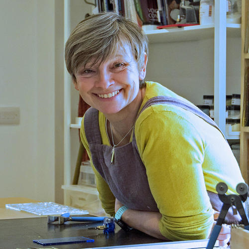 Feathered Glass owner and artist Pip Stacey